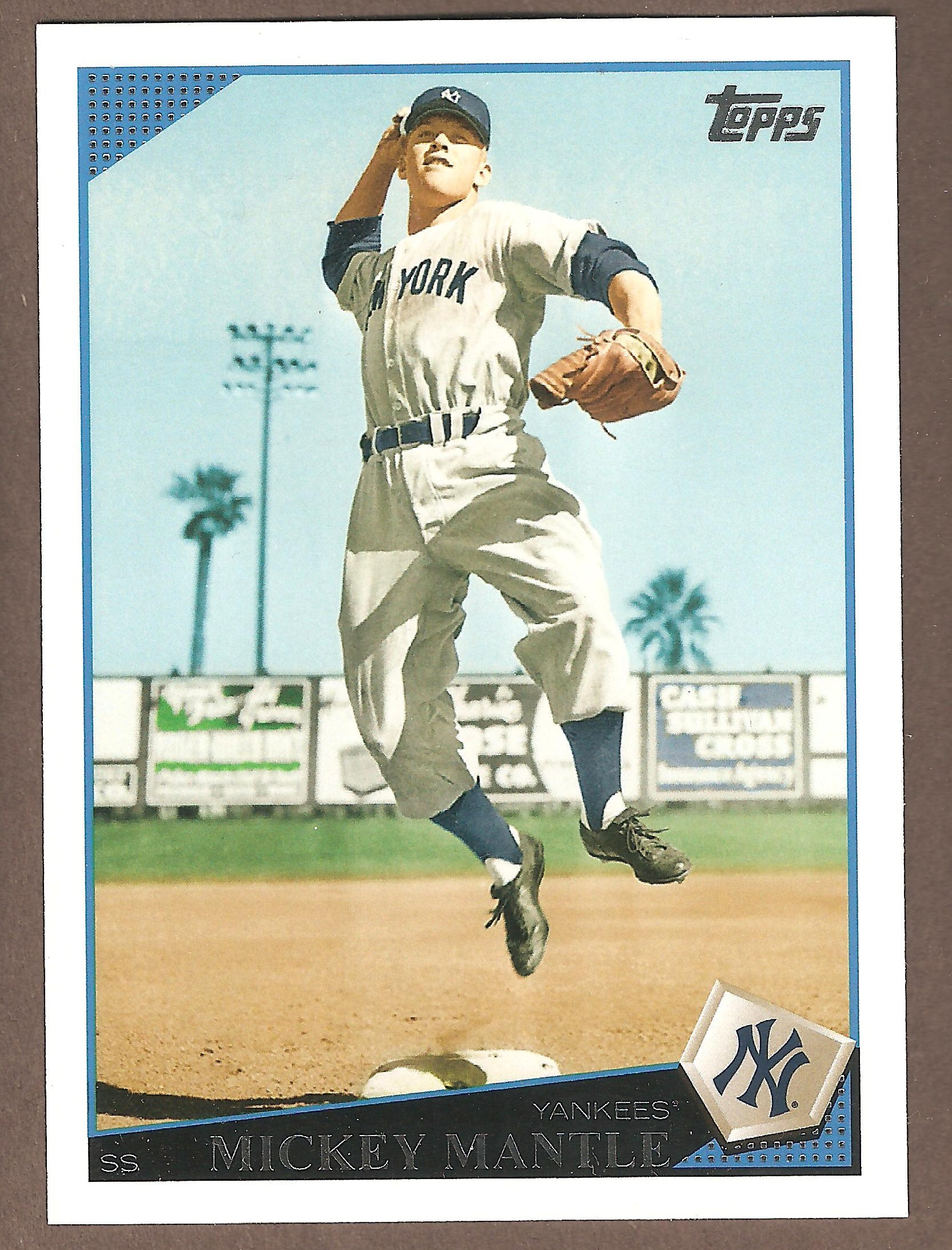2009 Topps Mickey Mantle