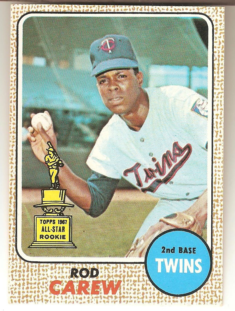 1968 Topps Rod Carew