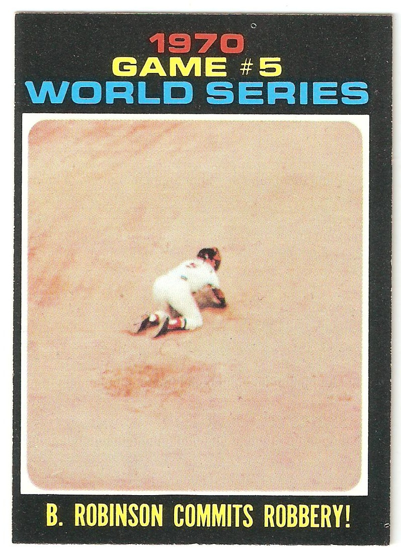 1971 Topps World Series Game 5