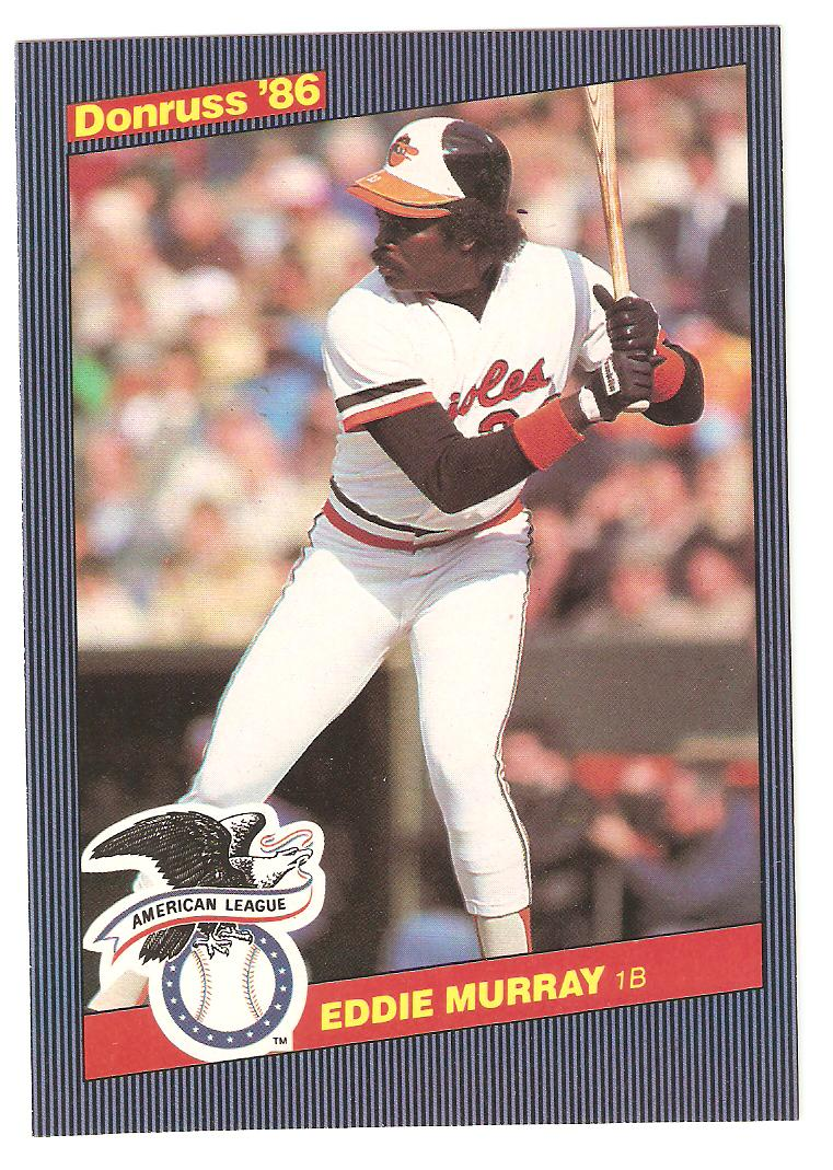 1986 Donruss Action All Stars Eddie Murray