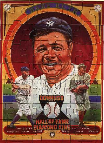 1982 Babe Ruth Puzzle